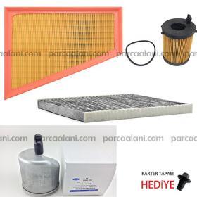 Ford Mondeo 1.6 Dizel Filtre Seti |Hava+Yağ+Polen+Mazot| 11-14