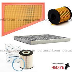 Ford Mondeo 2.0 Dizel Filtre Seti |Hava+Yağ+Polen+Mazot| 08-14